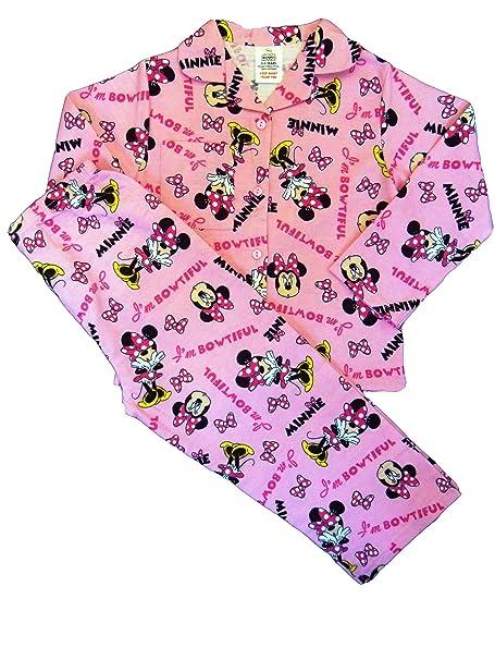 44f182f85f6a Winter Disney Minnie Mouse Girls Pyjamas  Amazon.co.uk  Clothing