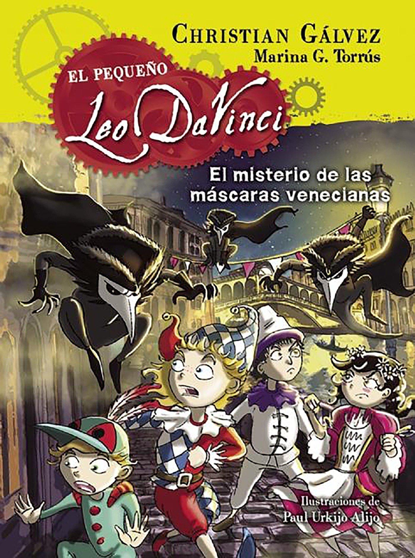 Amazon.com: El misterio de las máscaras venecianas / The Mystery of the Venetian Masks (El pequeño Leo da Vinci) (Spanish Edition) (9788420417974): ...