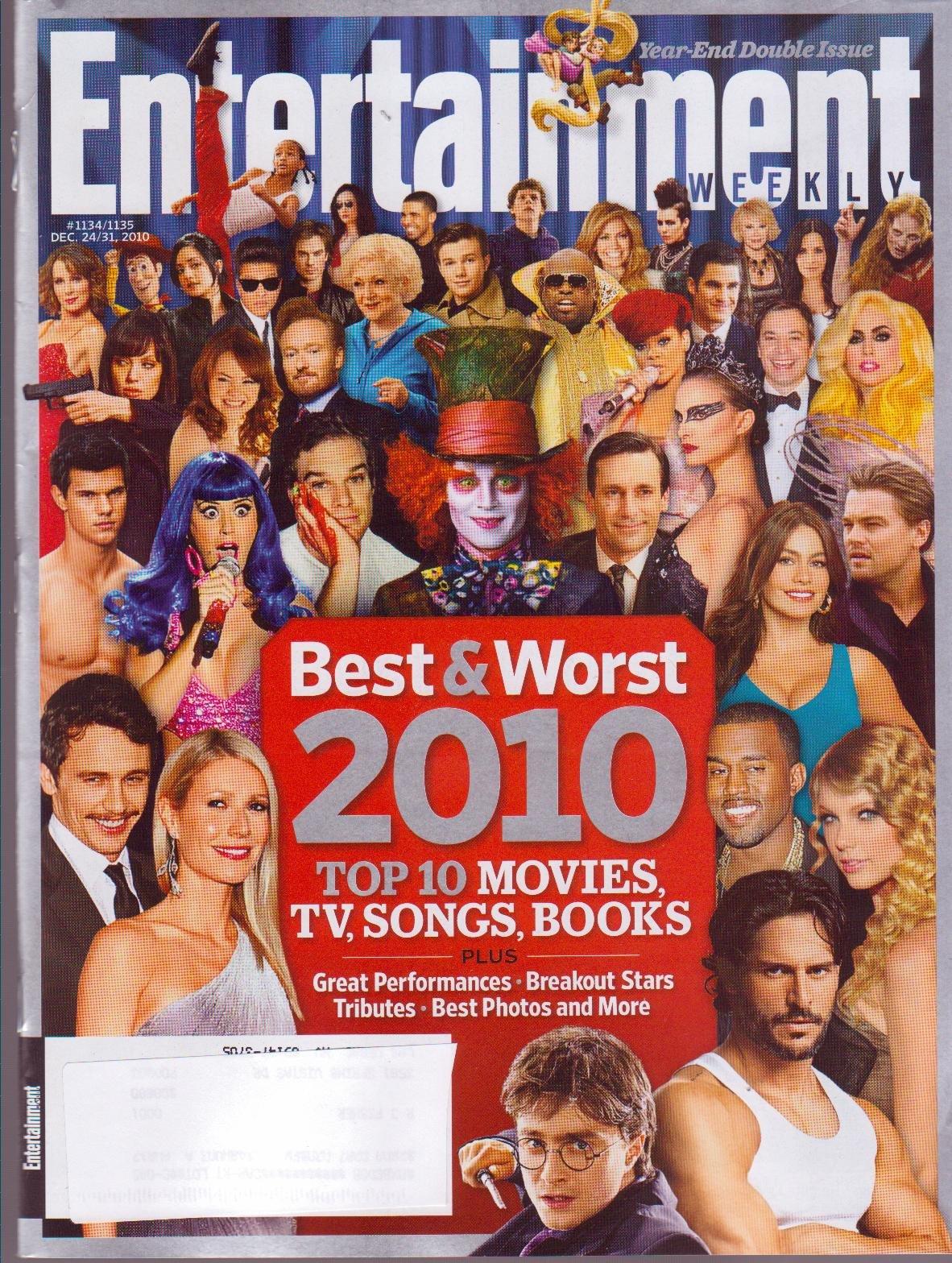 ENTERTAINMENT WEEKLY Magazine (Dec 24-31, 2010) Best & Worst 2010 ebook