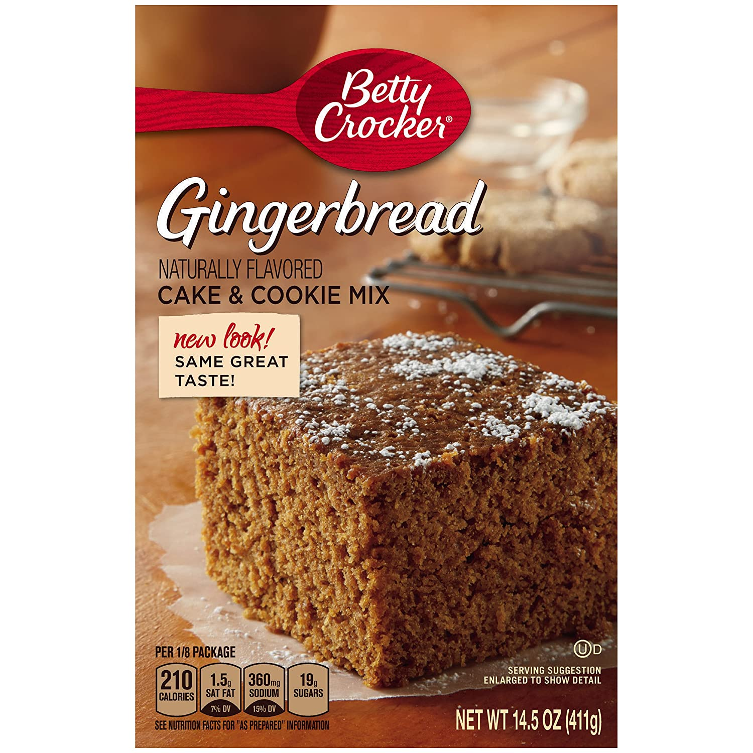 Amazon Betty Crocker Baking Mix Cake Cookie Gingerbread 145 Oz Box Pack Of 12 Grocery Gourmet Food