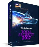 Bitdefender Total Security 2017 | 5 Devices, 1 Year | PC, Mac | Download [Online Code]