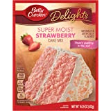 Betty Crocker Super Moist Cake Mix Strawberry 15.25 oz Box (pack of 6)