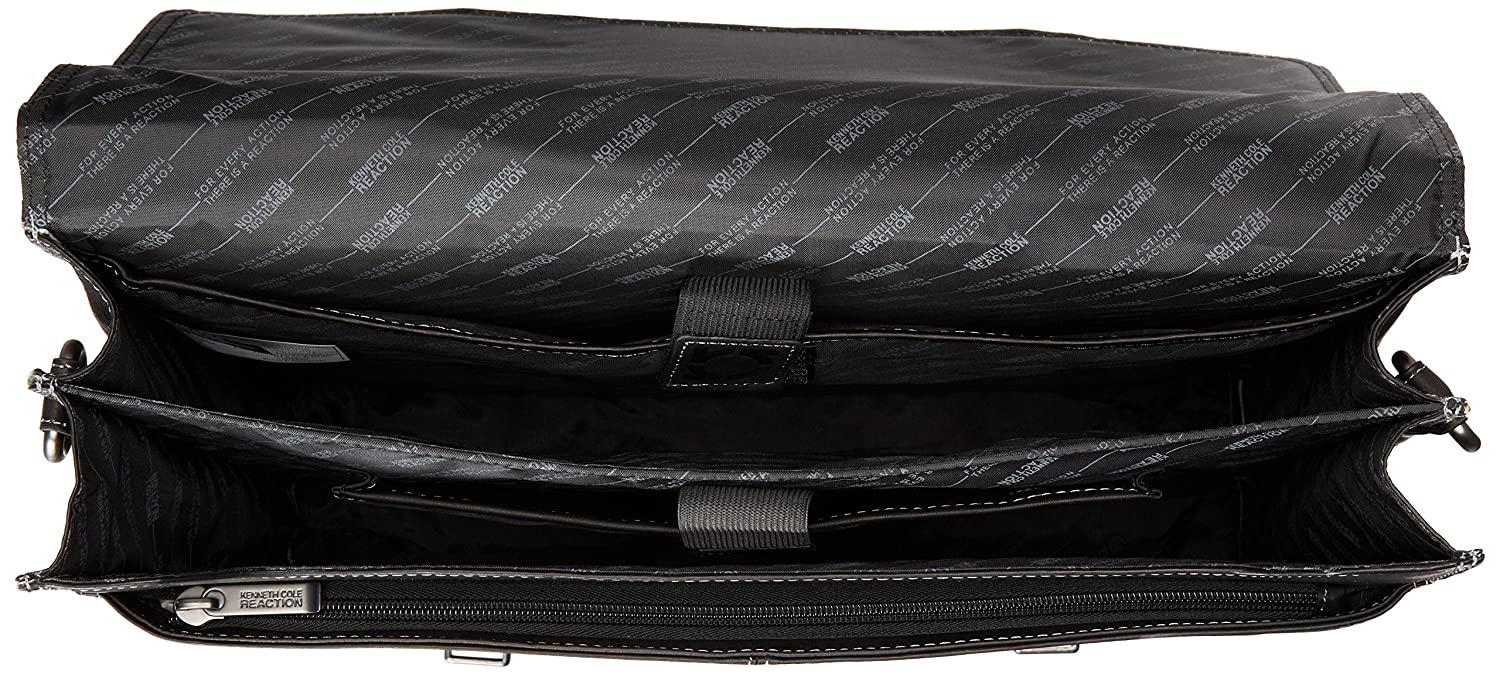 Kenneth Cole Reaction Unisex Flappy Go Lucky Colombian Leather Flapover Brief