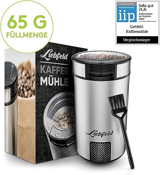 Elektrisch Kaffeemühle Kaffemühle Zerkleinerer Espressomühl Kaffeemühle Silber