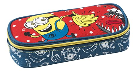 Graffiti Despicable Me Minions Estuches, 22 cm: Amazon.es ...