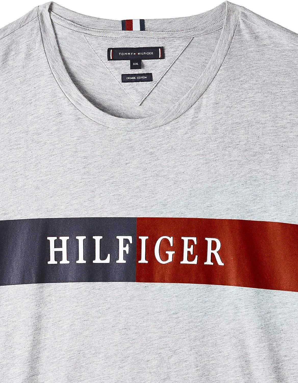 Tommy Hilfiger Block Stripe Hilfiger Tee Camicia Sportiva Uomo