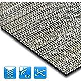 Tapis intérieur extérieur casa pura® résistant, antisalissure, impermeable et antidérapant | nombreux design/tailles | Matera - 60x100cm