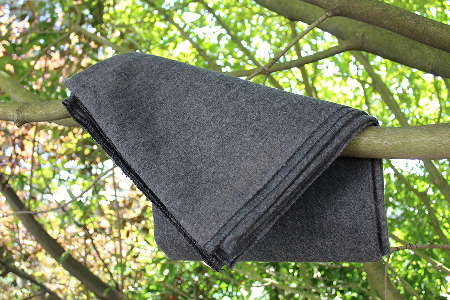 """Ready First Aid™ (50% Wool Blanket), 51"""" x 80"""", 2LBS, Gray Colour Ready First AidTM"""