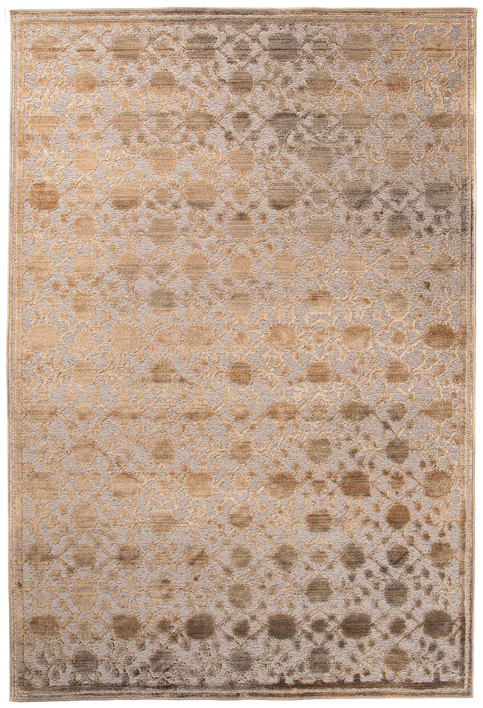 Tapiso Bohemian Teppich Klassisch Vintage Kurzflor Orientalisch Floral Ornament Muster Braun Designer Wohnzimmer ÖKOTEX 120 x 170 cm
