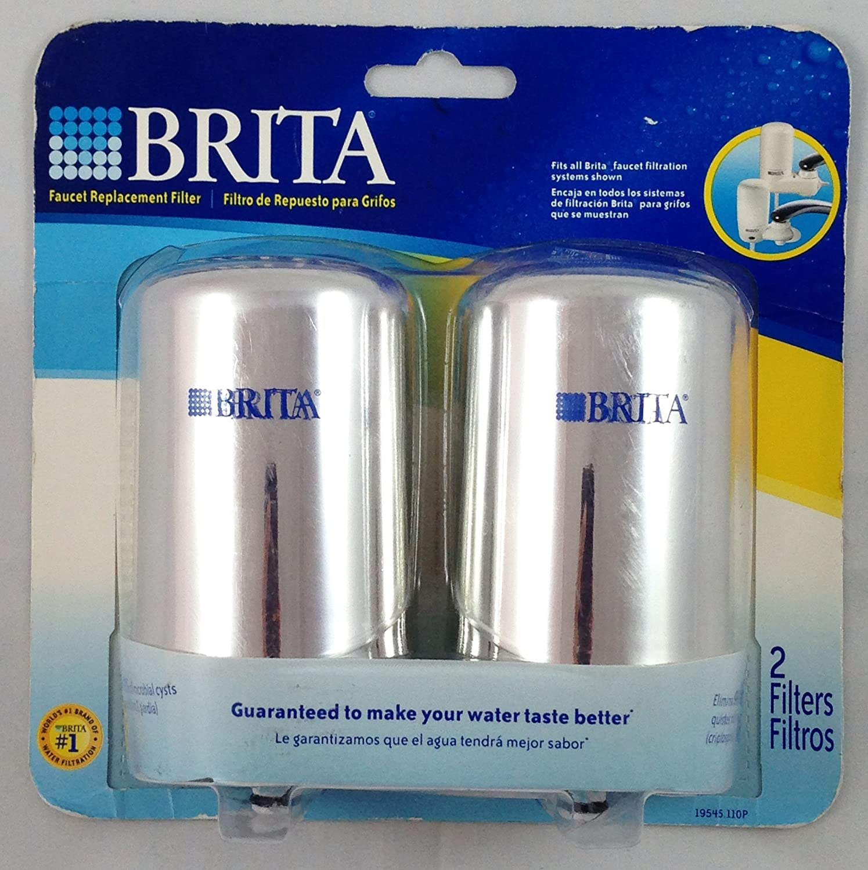 Amazon.com: Brita - 2 Faucet Replacement Filters - for Models FF-100 ...