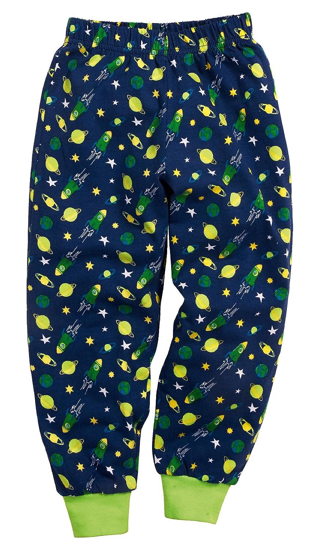 Playshoes Jungen Single-Jersey Weltall Zweiteiliger Schlafanzug