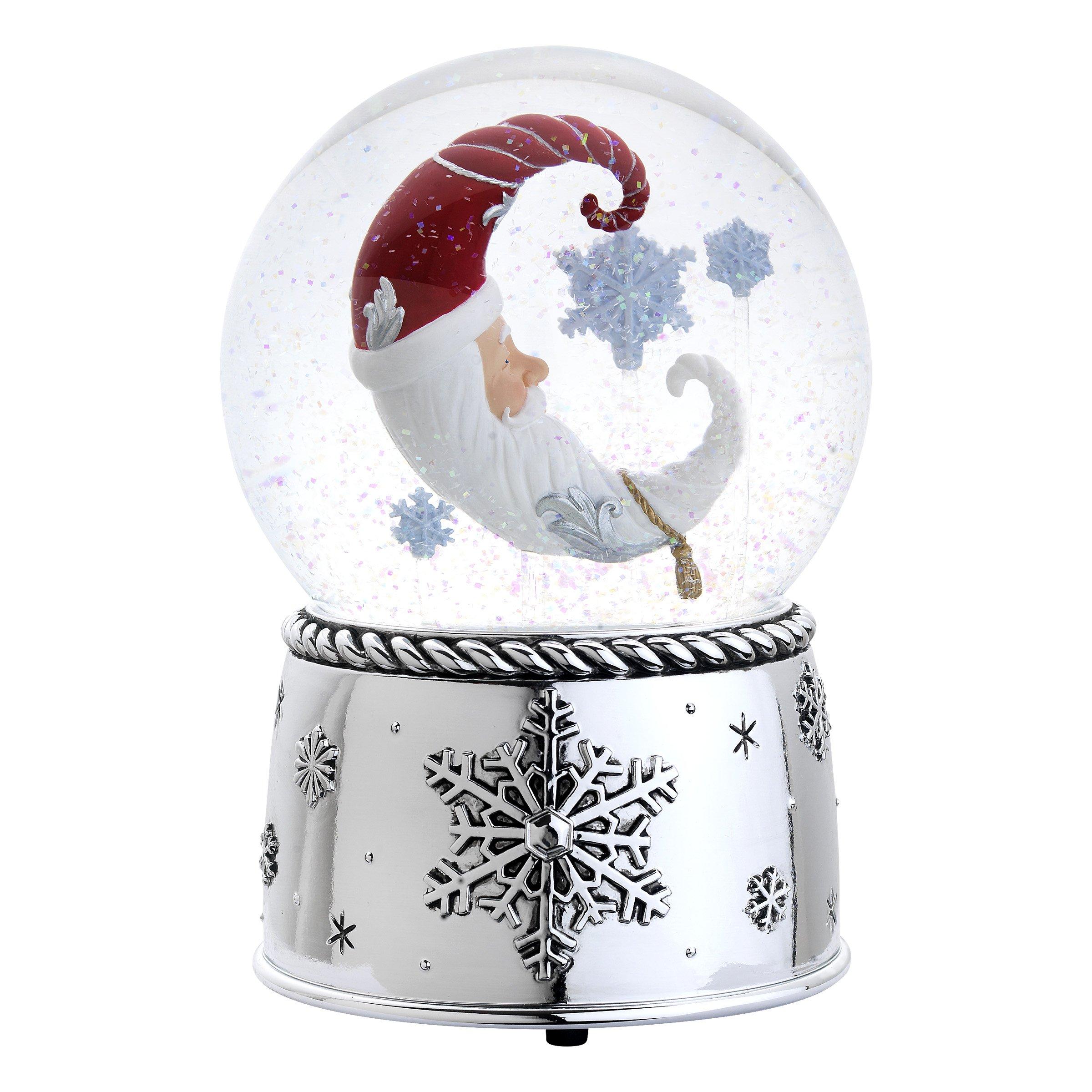 Reed & Barton 4315 Winter Dreams Snow Globe, 6.75-Inch, Plays Greensleeves by Reed & Barton (Image #1)