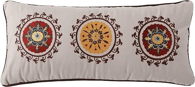 Greenland Home Andorra Decorative Neck Roll Pillow