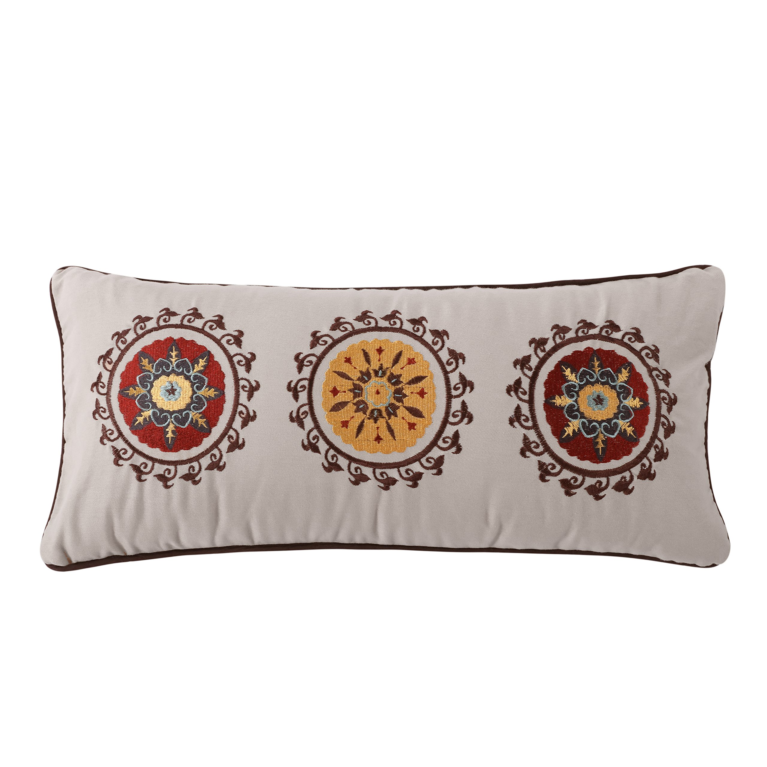Greenland Home Andorra Decorative Neck Roll Pillow
