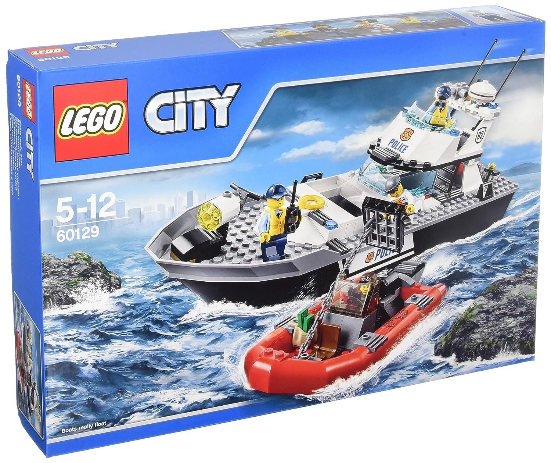 LEGO City 60129 - Polizei-Patrouillen-Boot, Bausteinspielzeug ...