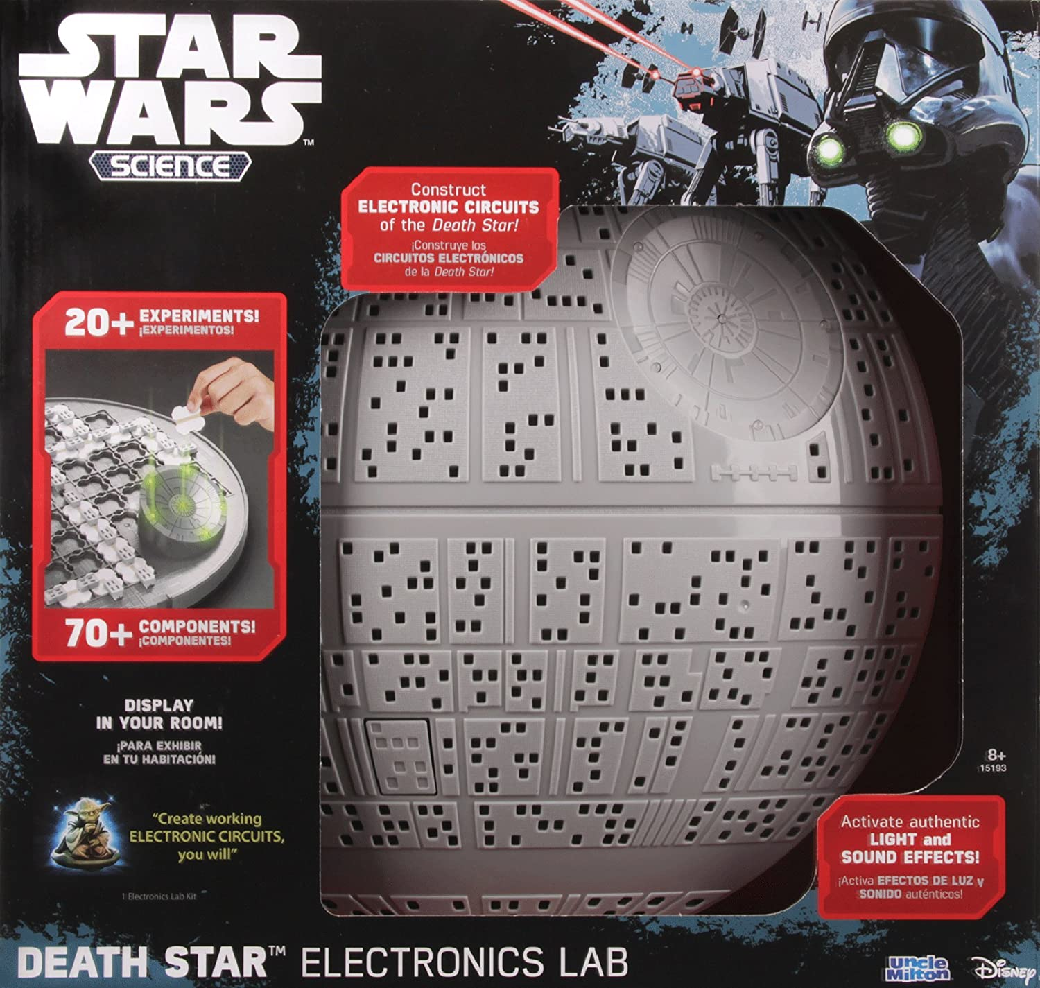Uncle Milton Death Star Electronics Lab Kit Toys Games Software For Designing Circuits Electronicslab