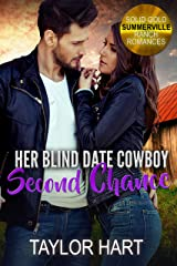 Her Blind Date Cowboy Second Chance: Sweet Christian Fiction (Solid Gold Summerville Ranch Billionaire Romance Book 6) Kindle Edition