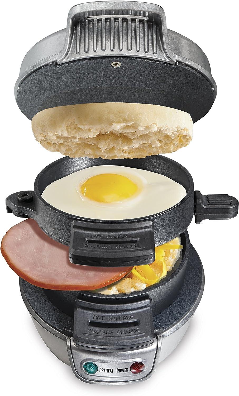 Hamilton Beach 25475A Breakfast Sandwich Maker Renewed