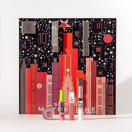 Maybelline New York Calendrier de l'Avent Maquillage Noël 2019