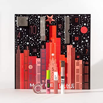 Maybelline New York Calendrier de l'Avent Maquillage Noël 2019
