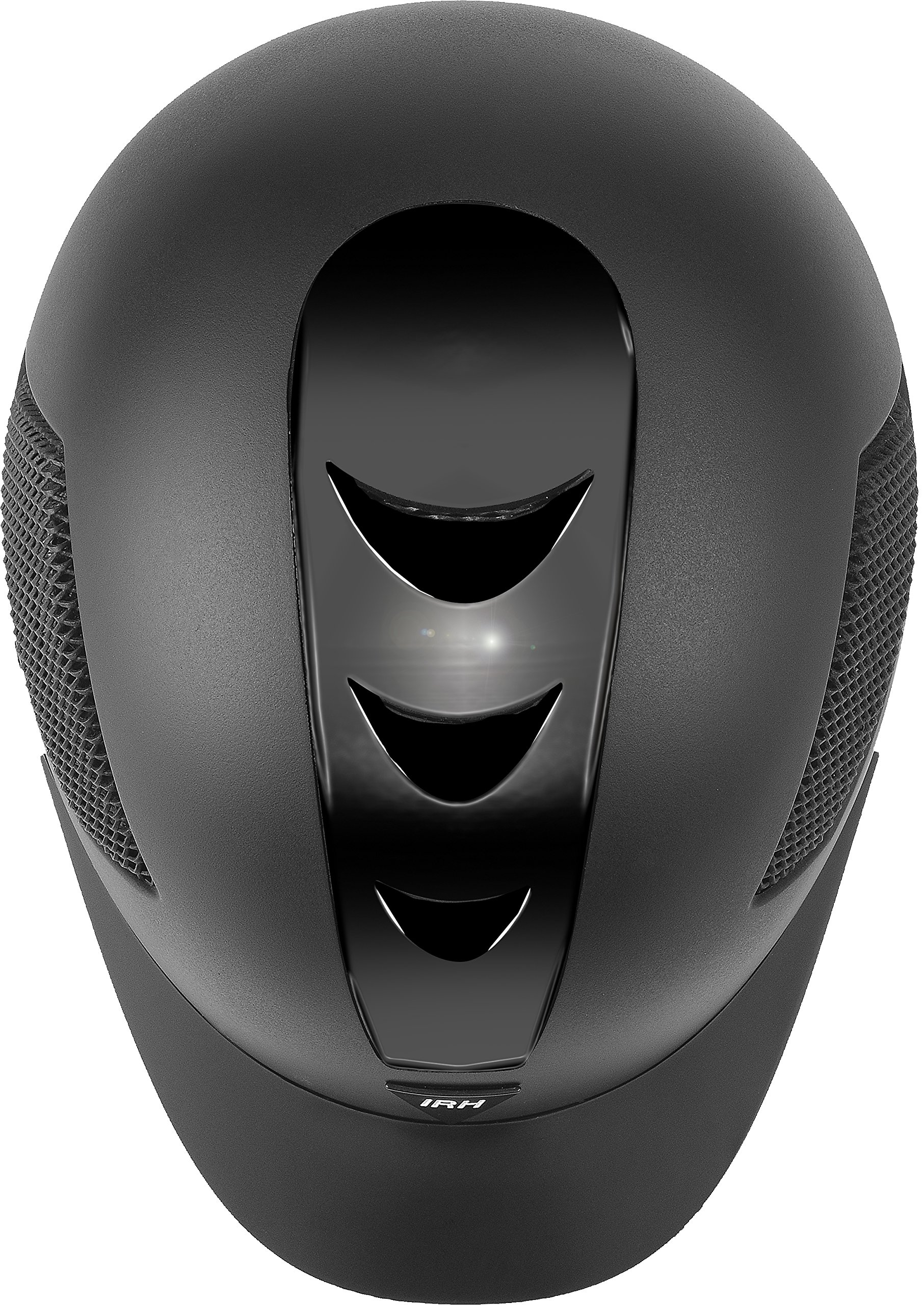 ELITE EXTREME Full Wrap-Around Harness Helmet with Matte Black Shell & Glossy Black, Size 6 7/8, Black by ELITE EXTREME (Image #3)