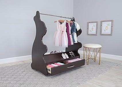 ACE bebé muebles conejo móvil vestir ropa y organizador de zapatos ...