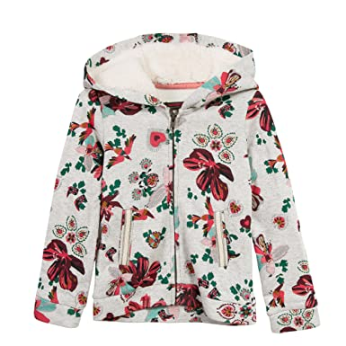 Catimini Cardigan Moll, Gilet Fille, (Chiné Imprime), 4 Ans (Taille Fabricant: 4A)