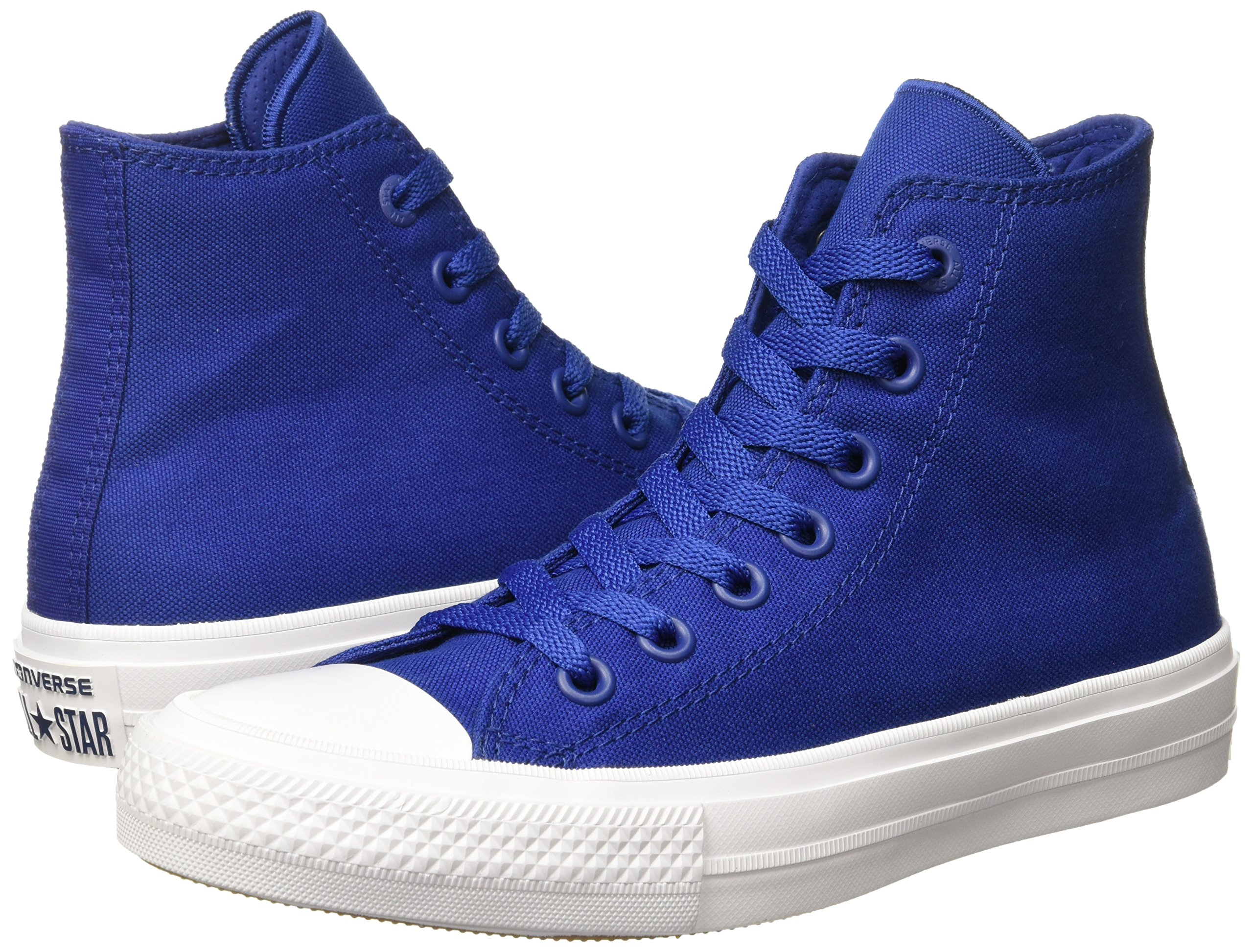 Converse Men's Chuck Taylor All Star II Hi, (Blue), 4 by Converse (Image #5)