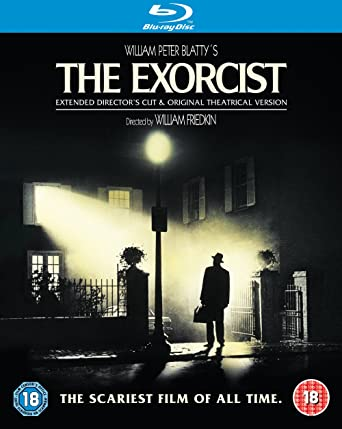 the exorcist blu ray 1973 region free amazon co uk linda