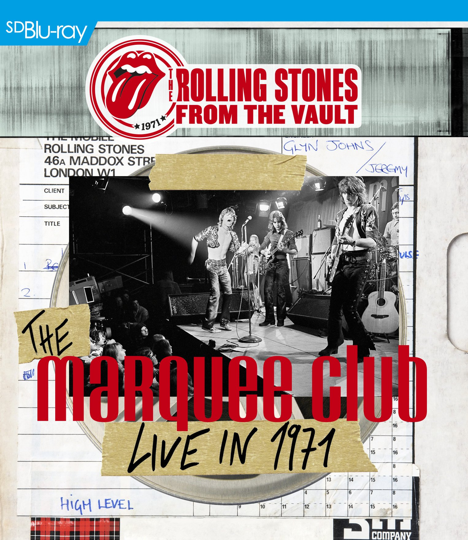 Blu-ray : The Rolling Stones - The Rolling Stones From the Vault: The Marquee Club Live in 1971 (With CD, 2 Disc)