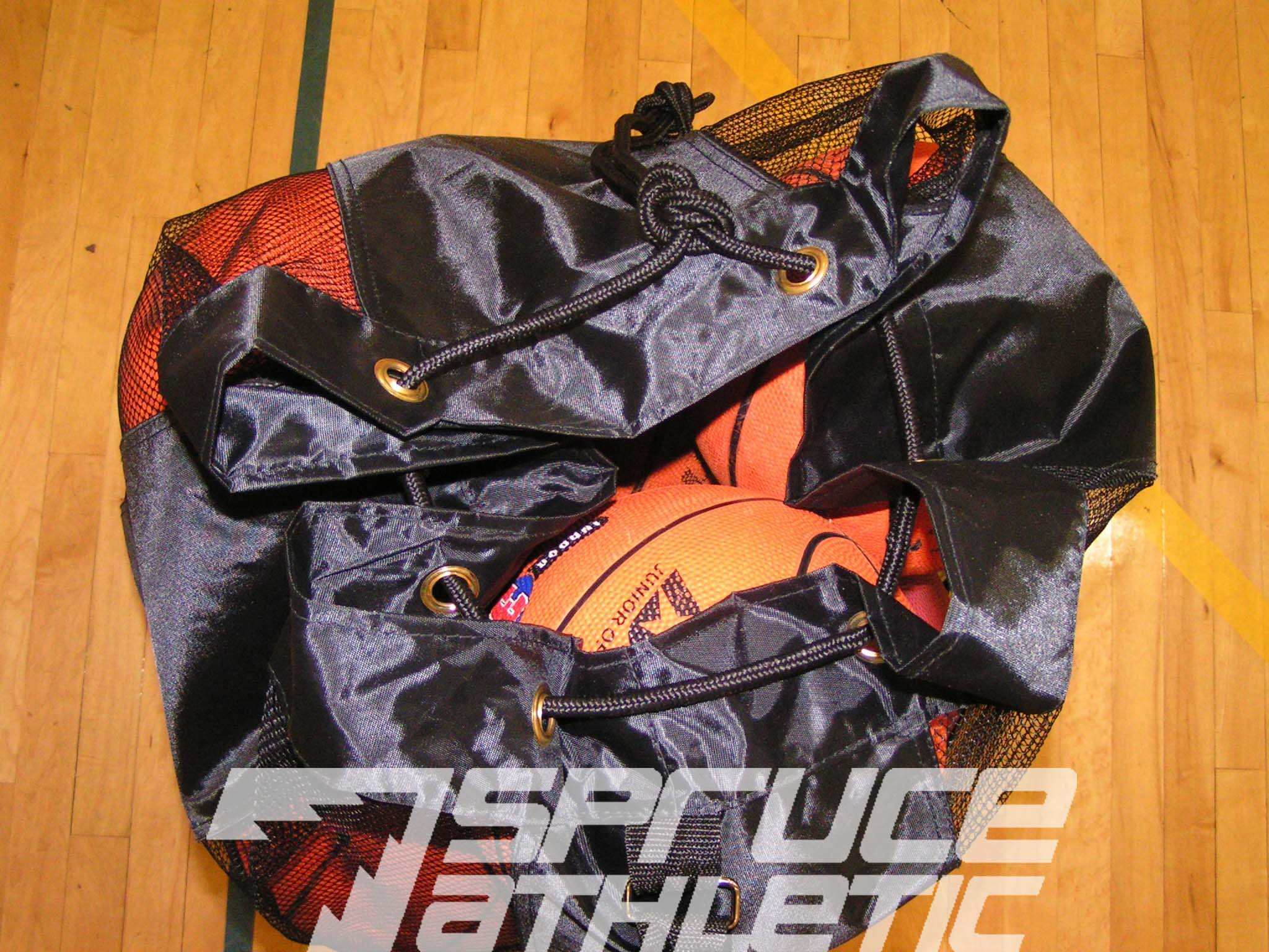 Spruce Athletic X-Large Heavy Duty Ball Bag (Holds 18 Soccer Balls or 15 Youth Basketballs) by Spruce Athletic (Image #4)