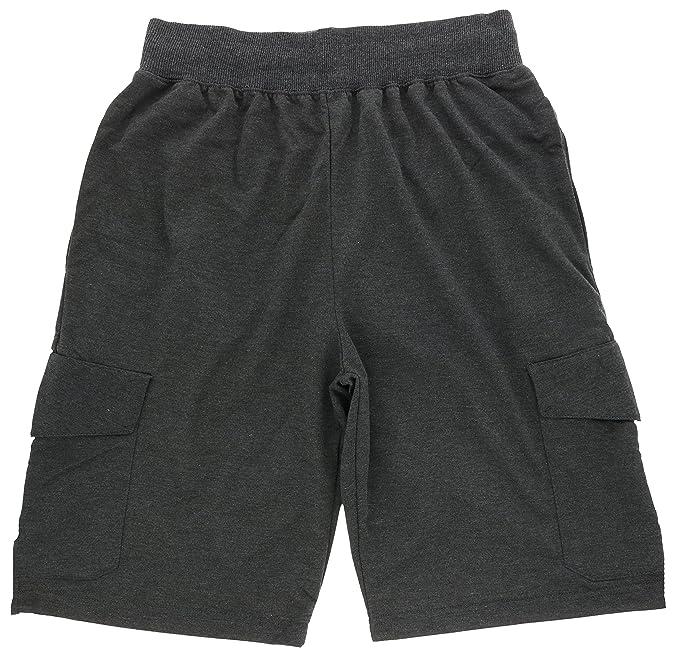 c3128f3801 Marx & Dutch Men's Cotton Blend Cargo Shorts, Six Pockets, Drawstring Waist  (Small