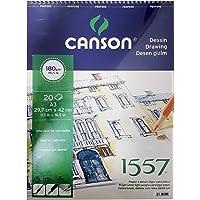 Canson 1557 Resim Ve Çizim Blok 180Gr A3 20Yp Üstten Spiralli Resim Defteri