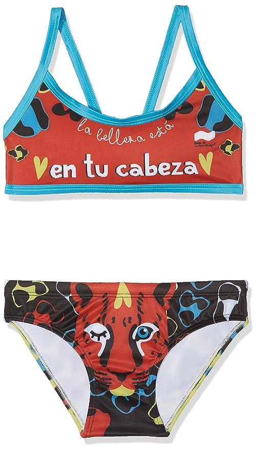 quality design 61a7e cbcad Swimgo Vita PL Tiger, Bikini Bambina: Amazon.it: Sport e ...
