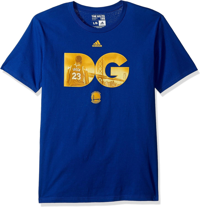 NBA Golden State Warriors Adult Men Initial Landmark Name S//Tee,X-Large,Blue