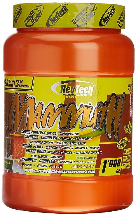 Revtech Mammuth Carbohidratos y Proteína, Sabor a Piña - 1000 gr