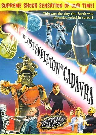 Amazon.com: The Lost Skeleton of Cadavra: Larry Blamire, Fay Masterson:  Movies & TV
