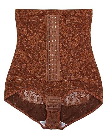 95428fae1ea6 ShaperQueen 1015 Women Best Waist Cincher Girdle Belly Trainer Corset Body  Shapewear (XS, Tan
