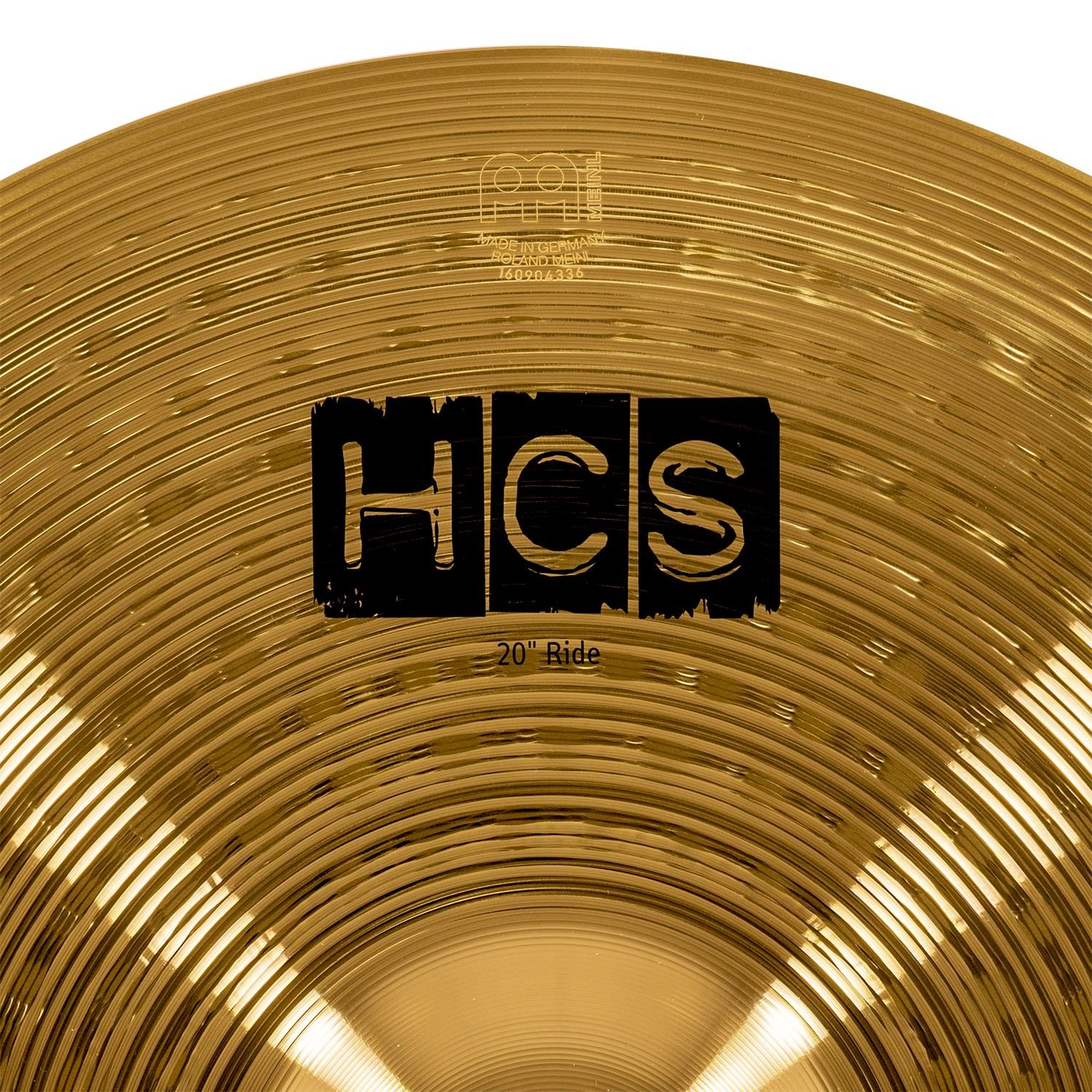 Meinl Cymbals HCS20R 20'' HCS Brass Ride Cymbal for Drum Set (VIDEO) by Meinl Cymbals (Image #3)