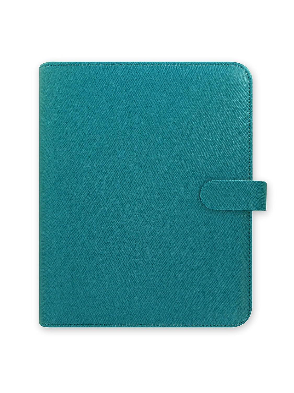 Filofax Saffiano 16-022532 - Organizador personal, A5, color azul (aquamarina): Amazon.es: Oficina y papelería
