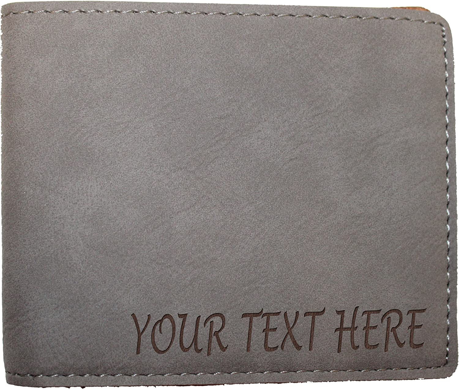 Personalized Engraving Included Faux Leather Bi-Fold Wallet Urology
