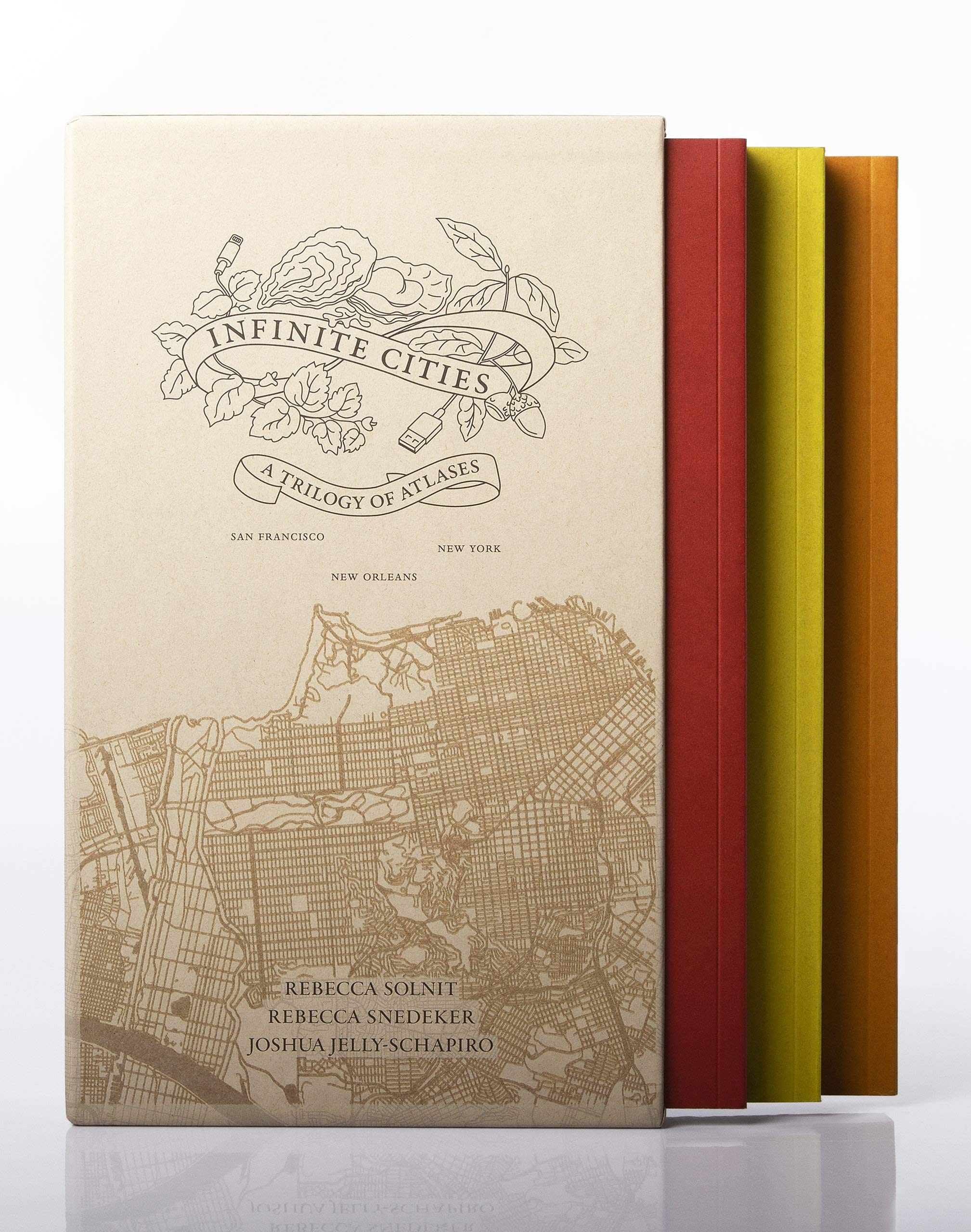 Infinite Cities Trilogy  A Trilogy Of Atlases
