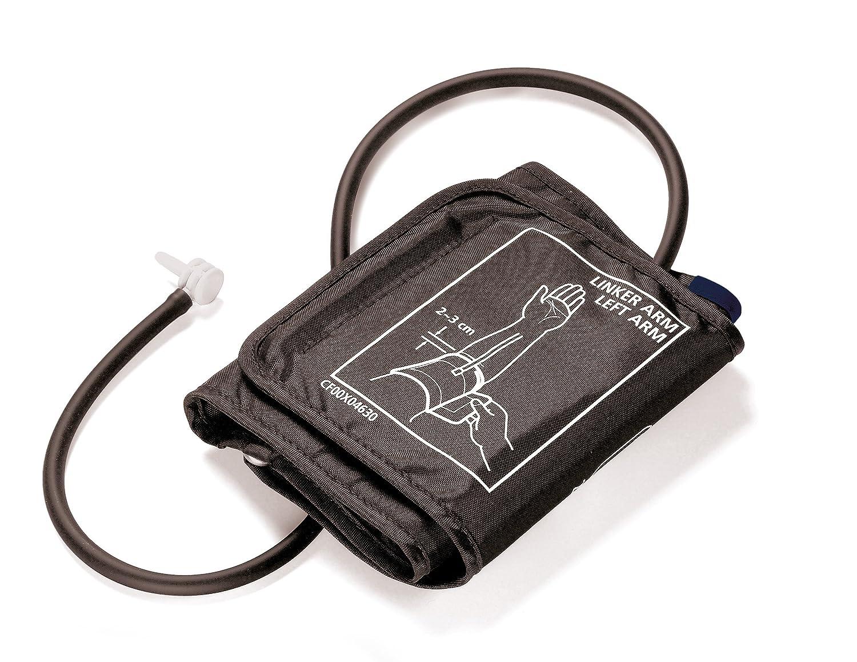 Beurer BM 16 WHO - Tensiómetro automático de brazo, indicador OMS, gran pantal LCD, color plateado: Amazon.es: Salud y cuidado personal