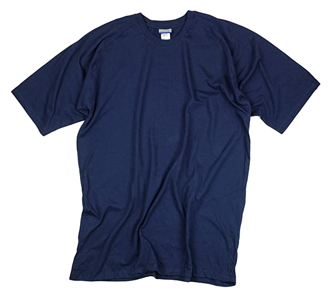 33b10a816f0b Amazon.com: Reebok Mens 100% Cotton T-Shirt (Large, Navy): Clothing
