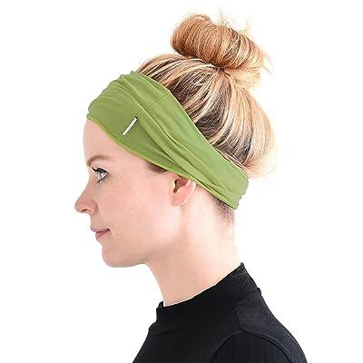 CHARM Casualbox Mens Womens Sports Sweat Headband Hairband Yoga Towel Stretch Spandex