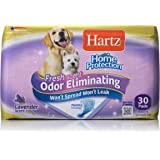Hartz Home Protection Lavender Scent Odor Eliminating Gel Dog Pads