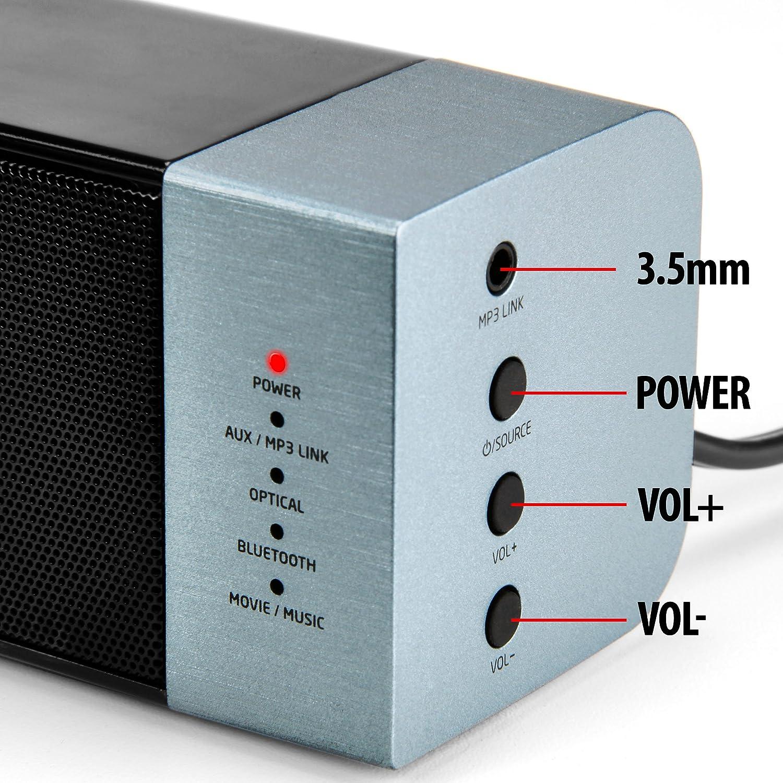 Amazon.com: High-FI Bluetooth TV Soundbar Speaker System with ...