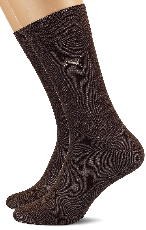 PUMA Herren Classic Casual Business Socken 4er Pack dark brown dark brown 138 4346