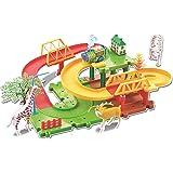 Webby Animals 11 Multilevel Train Set, Multi Color