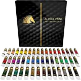 Acrylic Paint Set - 48 x 12ml Tubes - Heavy Body - Lightfast - Artist Quality Paints by MyArtscape™